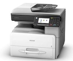 Fotocopiadora laser de mesa Ricoh MP 301 Blanco y negro , duplex y alimentador de originales