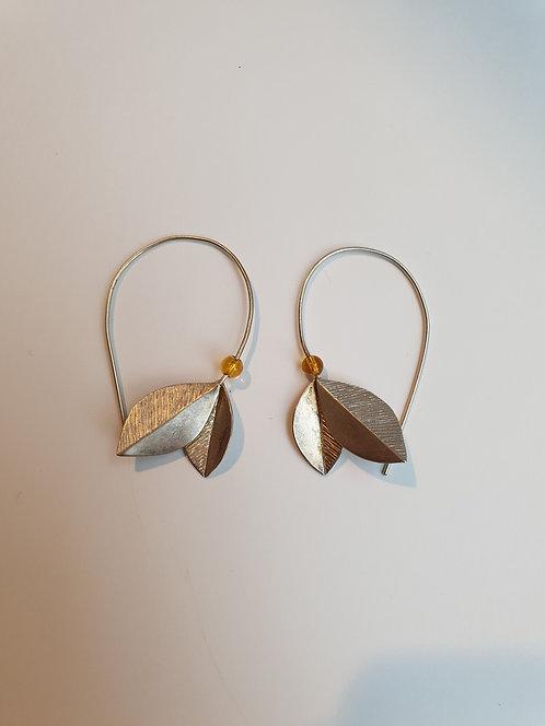 Boucles d'oreille argent /// CAMILLE DENTON