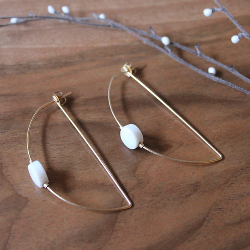 Boucles d'oreilles /// DELPHINE ISKANDAR