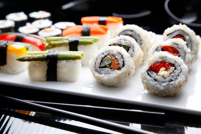 FrozenBox Sushi – Vegan