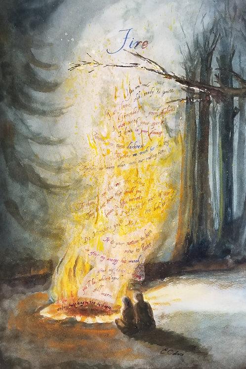 Fire  (Original Art)