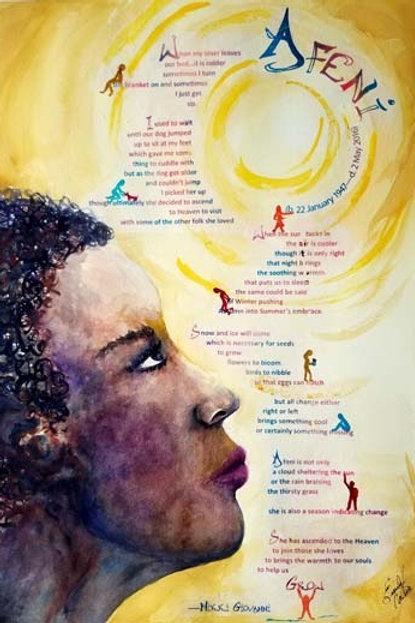 Afeni, a poem by Nikki Giovanni