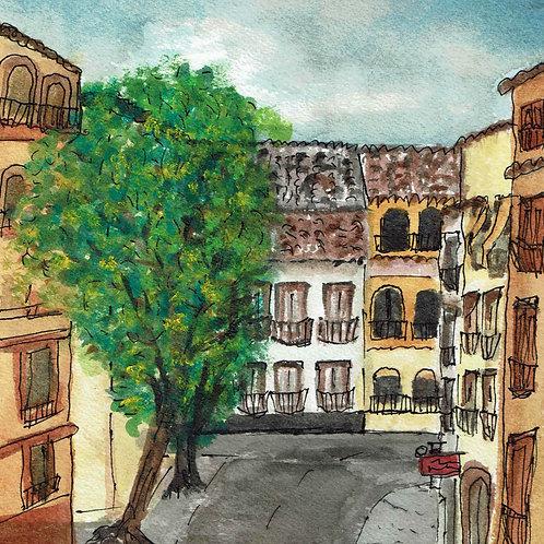 On the Balcony in Granada