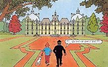 Dessin du Château de Cheverny