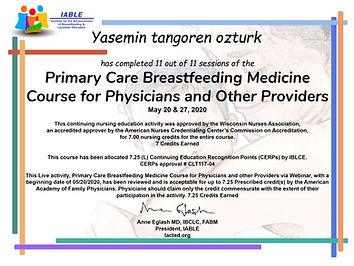 IABLE Certificate - Yasemin tangoren ozt
