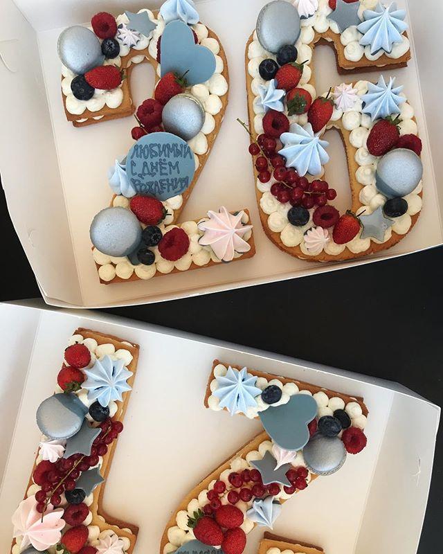 Торт - цифра