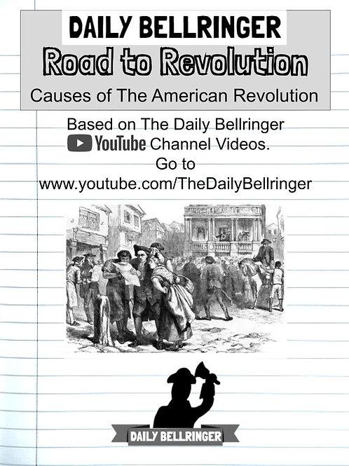 Road to Revolution Worksheet Pack (15 sheets)