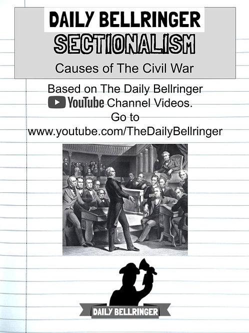 Sectionalism Worksheet Pack (10 sheets)