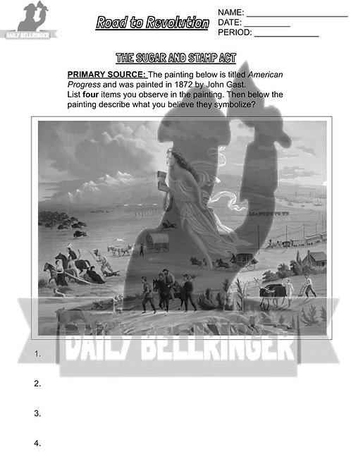 Manifest Destiny Worksheet
