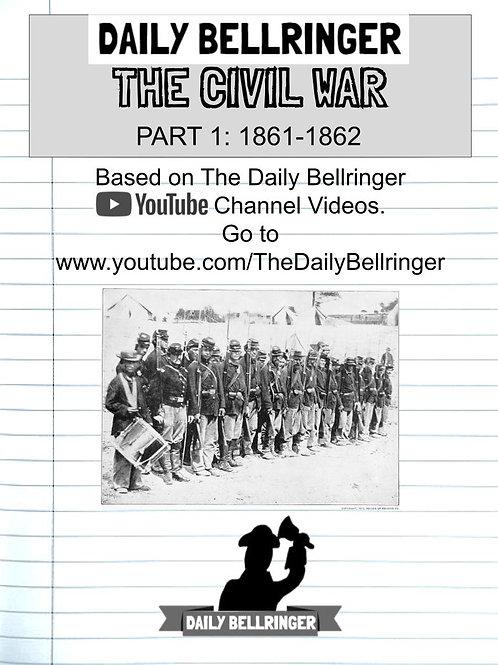 The Civil War Part1: 1861-62 Worksheet Pack (12 sheets)