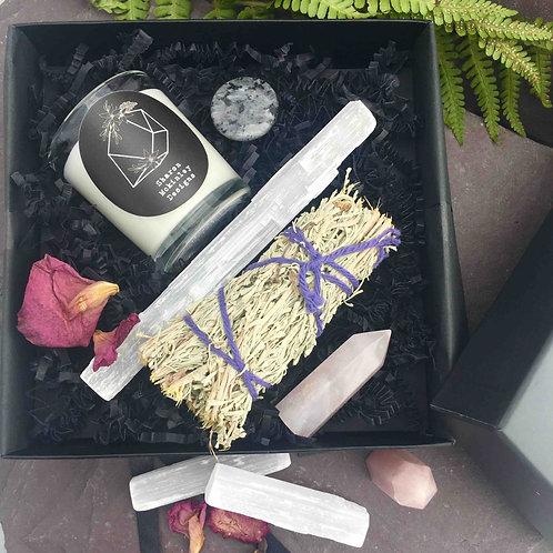 Rose Quartz Tower Gift Box