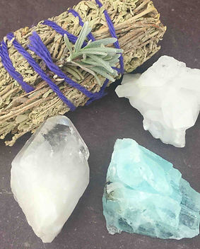 crystal cleansing, semi precious stones,