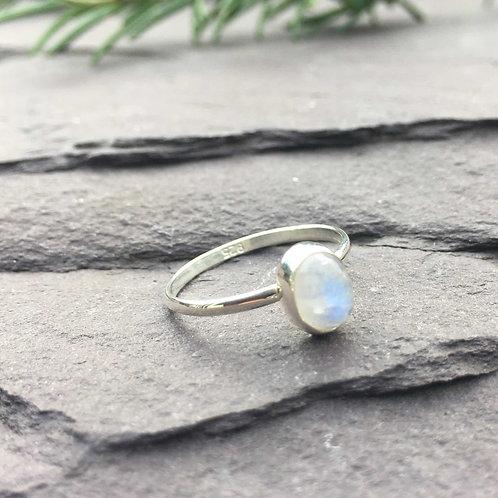 Moon Stone Ring
