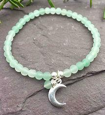 womens-aventurine-beaded-bracelet-moon