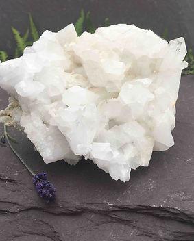himalayan quartz cluster crystal