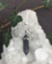 Larvikite & Quartz Crystal.jpg
