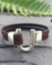 leather bracelet, alternative jewellery