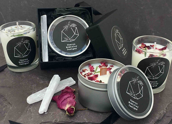 hand poured soy wax candles, handmade in