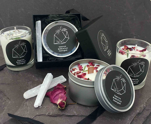 soy wax candles, handmade in wales, shar