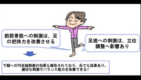 10/5更新 ロコモ予防の為の鍼灸