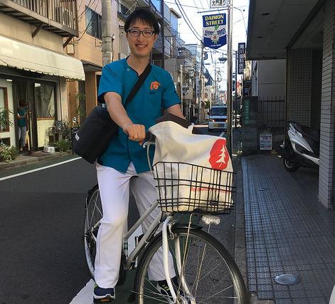 往診 自転車