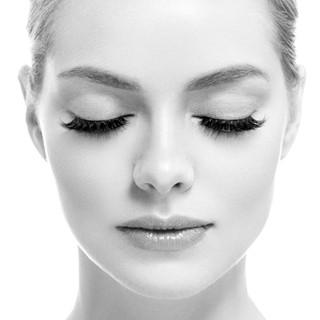 Eye lashes woman beauty face macro monoc