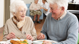 Helping loved ones with Dementia to eat.