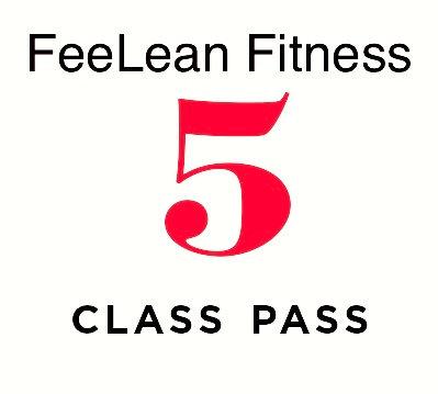 5 Class Pass - Gift Certificate