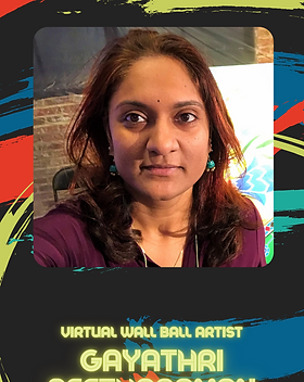 Virtual Wall Ball - Gayathri Seetharaman