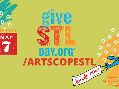 GIVESTLDAY | Ways you can help ARTSCOPE on #GiveSTLDay!