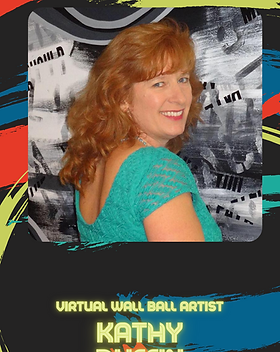 Virtual Wall Ball - Kathy Duffin Artist