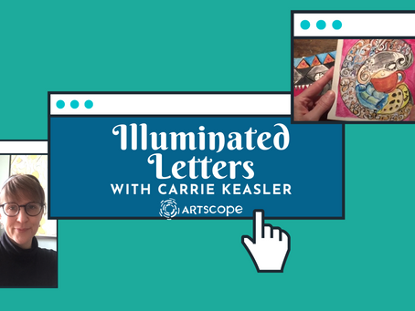 Illuminated Letters with Carrie