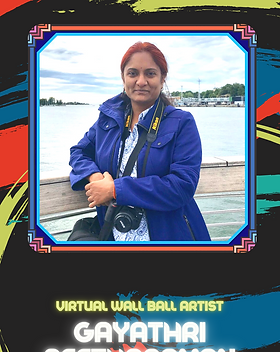 Virtual Wall Ball - Gayathri Seetharaman