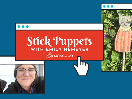 Stick Puppets w/Emily