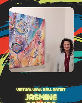 Virtual Wall Ball - Jasmine Raskas Artis