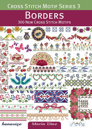 Cross Stitch Motif Series 3: Borders