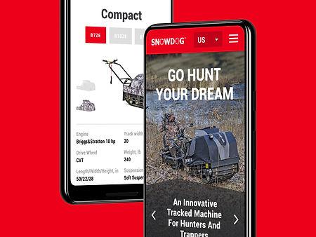Мобильная версия сайта для компании Балтмоторс
