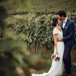Mariage à la Drille au bord de l'eau, à Wisches