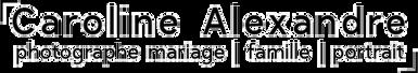 logo mariage famille portrait