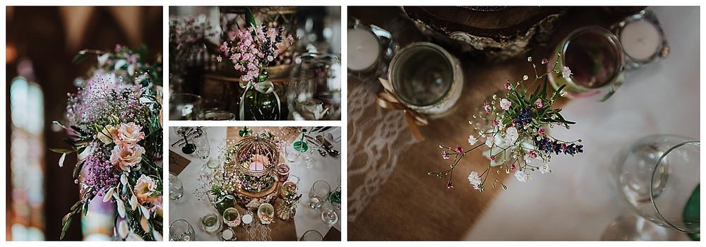 Décoration florale mariage, L'Agapanthe
