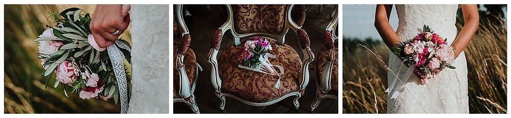 bouquet de mariée L'Agapanthe