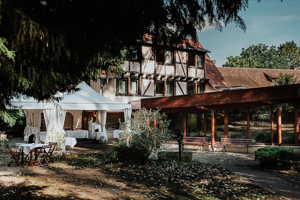 Cour de la Ferme Marie-Hélène à Neugartheim-Ittlenheim