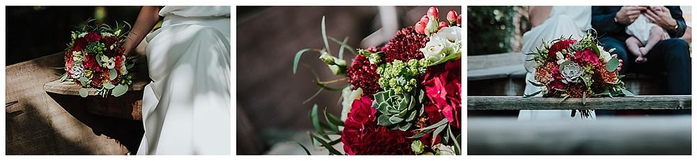 bouquet de mariée automnale
