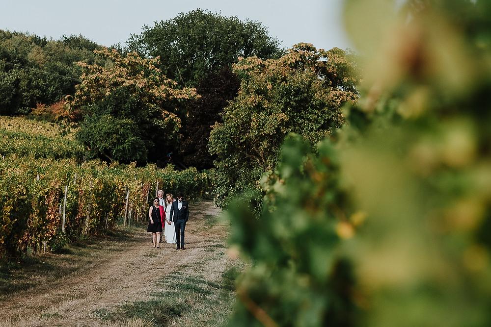 Arrivée des mariés cérémonie laïque