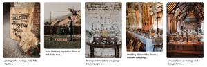 inspiration mariage Folk Rock - Pinterest