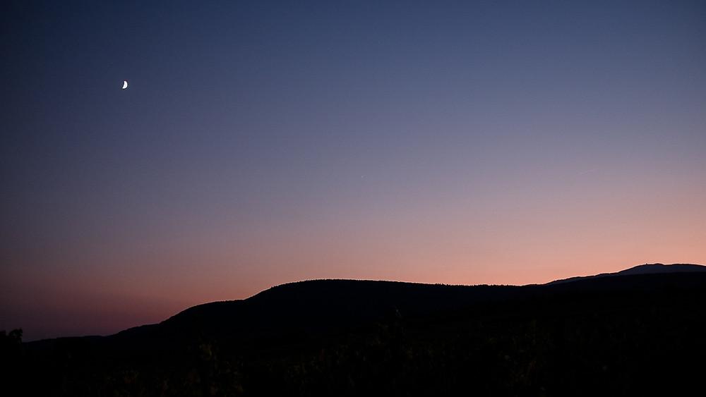 Coucher de soleil Alsace