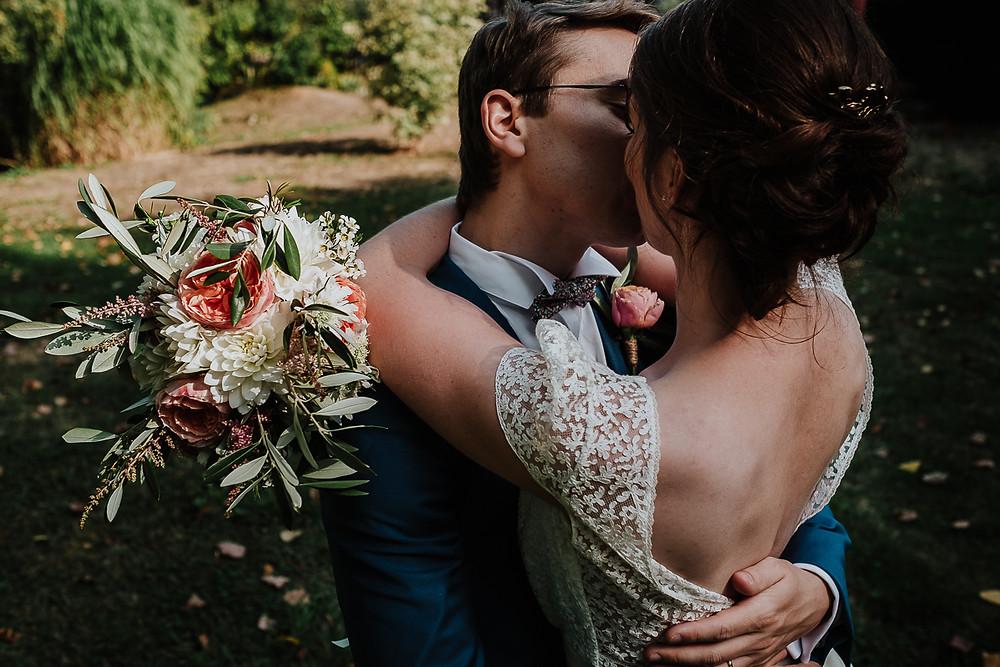 baiser des mariés Ferme Marie-Hélène à Neugartheim-Ittlenheim