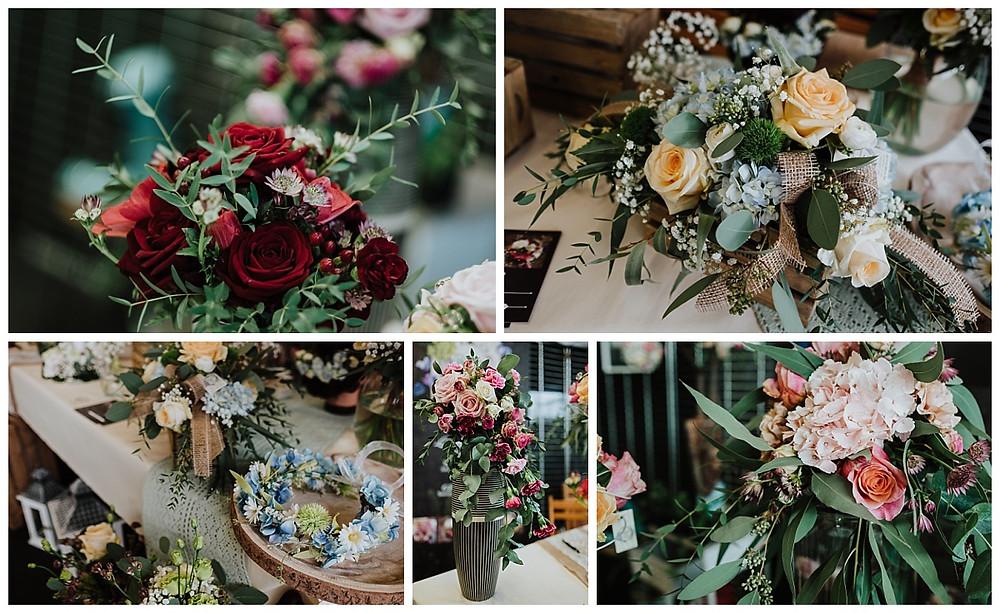 Bouquets de mariée Hortensia Bleu Haguenau