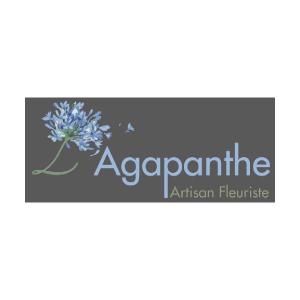logo L'Agapanthe, fleuriste
