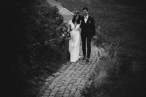 mariage drille au bord de l'eau